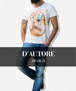 Design-d'autore-Stezzo-Vivere-T-Shirt-Casual