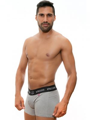 boxer-grey-for-men-underwear-collection-Stezzo-Vivere
