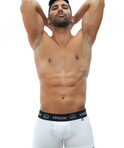 boxer-white-for-men-underwear-collection-Stezzo-Vivere