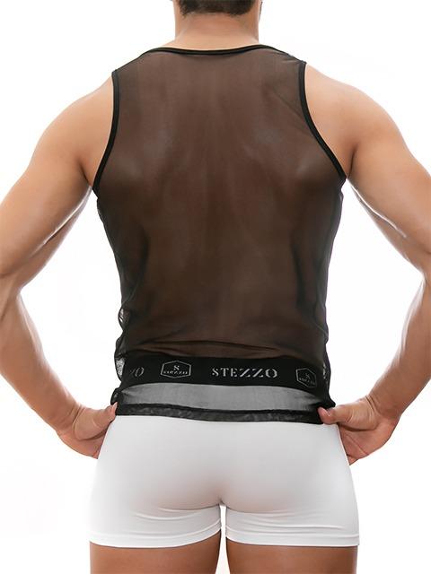 mesh-tank-top-black-for-men-stezzo-vivere