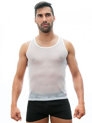 mesh-tank-top-white-for-men-stezzo-vivere