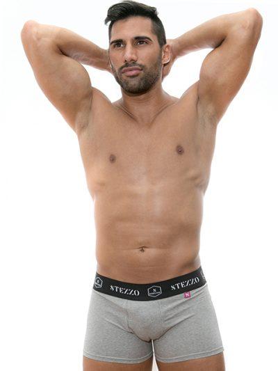 stezzo-vivere-underwear-boxer-grey
