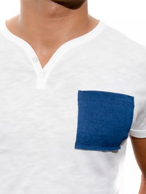 tshirt-white-blue-for-men-Stezzo-Vivere-Casual-Collection