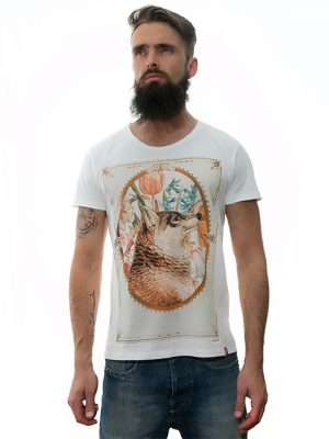 tshirt-white-cannis-lupus-for-men-exclusive-design-Stezzo-Vivere