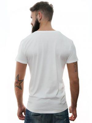 camiseta-blanca-cannis-lupus-para-hombre-diseño-exclusivo-Stezzo-Vivere