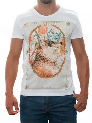 tshirt-white-cannis-lupus-for-men-exclusive-design-Stezzo-Vivere